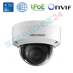 Imaginea Camera IP Dome 4 Megapixel, UltraHD, IR 30m, Stocare Card, WDR BLC DNR, Hikvision DS-2CD2143G0-I