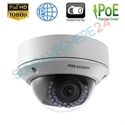 Imaginea Camera IP Dome 2MP, Full HD, lentila varifocala, IR20m, Hikvision DS-2CD2720F-I