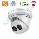 Imaginea Camera IP Exterior, UltraHD 2560x1920 pixeli, 5 megapixel, IR Exir 30m, CardSD, PoE Hikvision DS-2CD2355FWD-I