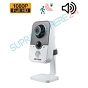 Imaginea Camera Cub De Interior Starlight, Audio Integrat, PIR, FullHD 1080p, IR 20m Hikvision DS-2CE38D8T-PIR
