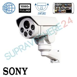 Imaginea Camera IP rotativa PTZ cu zoom motorizat 4X, FullHD 1080p, IR 60m, Senzor Sony, Envio IESS-B90PTZ200