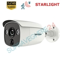 Imaginea Camera de exterior STARLIGHT, Avertizare Flash LED, PIR integrat, 1080p, IR Exir 30m, Hikvision DS-2CE12D8T-PIRL