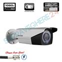 Imaginea Camera de exterior cu PoC (alimentare prin cablu date), FullHD 1080p, Varifocala, IR 40m, Hikvision DS-2CE16D0T-VFIR3E