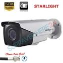 Imaginea Camera exterior cu PoC (alimentare prin cablu date), STARLIGHT, zoom motorizat, 1080p, IR 40m, Hikvision DS-2CE16D8T-IT3ZE