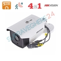 Imaginea Camera Exterior 4 in 1 TVI CVI AHD CVBS, 5 megapixel, 4K Ultra HD, IR Exir 40m, HIKVISION DS-2CE16H0T-IT3F