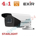 Imaginea Camera de exterior STARLIGHT, 5MP UltraHD, 4 in 1 TVI CVI AHD CVBS, IR Exir 80m, Hikvision DS-2CE16H8T-IT5F