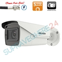 Imaginea Camera de exterior cu PoC (alimentare prin cablu date), lentila varifocala motorizata, 5MP UltraHD, IR Exir 40m, Hikvision DS-2CE16H0T-IT3ZE