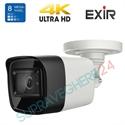 Imaginea Camera HDTVI 4K, 8 Megapixel, IR Exir 30m, WDR, DNR, TurboHD 4.0 Hikvision DS-2CE16U1T-ITF