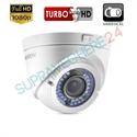 Imaginea Camera FullHD 1080p, 4 in 1 CVI TVI AHD, CVBS, lentila varifocala, IR 40m, Hikvision DS-2CE56D1T-VFIR3F