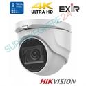 Imaginea Camera dome HDTVI 4K, 8 Megapixel, IR Exir 30m, WDR, DNR, TurboHD 4.0 Hikvision DS-2CE76U1T-ITMF