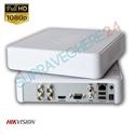 Imaginea DVR TurboHD 4 canale 2 Megapixel 1080p, 4 in 1 TVI CVI AHD CVBS, Hikvision DS-7104HQHI-K1