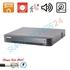 Imaginea DVR TurboHD 4 canale 5 Megapixel, PoC (alimentare camere din DVR), 4x Audio, 4x Alarma, Hikvision DS-7204HUHI-K1/P