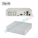 Imaginea DVR TurboHD 8 canale 720p, 4 in 1 TVI CVI AHD CVBS, Hikvision DS-7108HGHI-F1