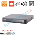 Imaginea DVR TurboHD 8 canale 5 Megapixel, PoC (alimentare camere din DVR), 4x Audio, 8x Alarma, 2x Slot HDD, Hikvision DS-7208HUHI-K2/P