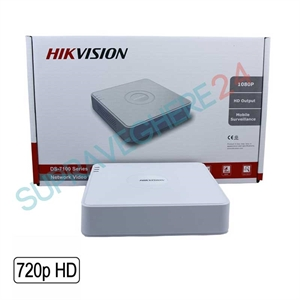 Imaginea DVR TurboHD 16 canale 720p, 4 in 1 TVI CVI AHD CVBS, Hikvision DS-7116HGHI-F1