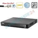 Imaginea DVR TurboHD 16 canale 2 Megapixel 1080p, PoC (alimentare camere din DVR), 2x Slot HDD, Hikvision DS-7216HQHI-K2/P