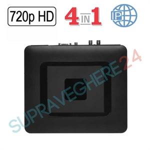 Imaginea DVR / NVR Hibrid 4 canale 720p / 1080p, 5 in 1 TVI CVI AHD CVBS IP, Envio ADP-504