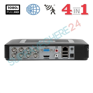Imaginea DVR / NVR Hibrid 8 canale 720p / 1080p, 5 in 1 TVI CVI AHD CVBS IP, Envio ADP-308v3