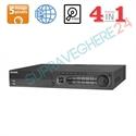 Imaginea DVR 32 canale 5 Megapixel, 5 in 1 TVI CVI AHD CVBS IP, 4x Audio, 16x Alarma, 4x HDD, Hikvision DS-7332HUHI-K4