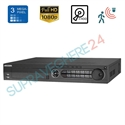 Imaginea DVR TurboHD 24 canale 2 Megapixel 1080p, 5 in 1 TVI CVI AHD CVBS IP, 4x Slot HDD, Hikvision DS-7324HQHI-K4