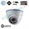 Imaginea Camera IP Dome, interior / exterior, HD, IR 20m, Aptina Envio IP-ATX24W-1.3