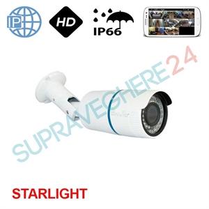 Imaginea Camera IP cu lentila varifocala, HD 720p, IR 40m, Senzor Starlight Envio IESS-BV75ST130