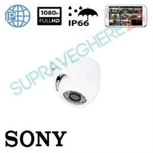 Imaginea Camera IP Dome, FullHD 1080p, Carcasa exterior, IR 20m, Sony Starvis, Envio IESS-DF50ST200