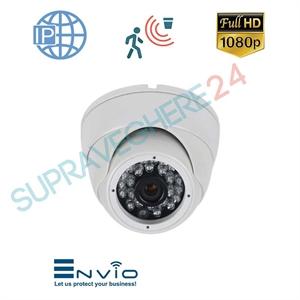Imaginea Camera IP Dome, FullHD 1080p, Exterior, IR 20m, Detectie Inteligenta, PoE, Sony Envio IESS-DFM50SF200