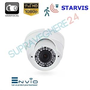 Imaginea Camera IP Dome, FullHD 1080p, Carcasa exterior, IR 30m, Varifocal, Sony Starvis, Envio IESS-DV70ST200