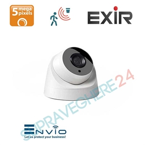 Imaginea Camera IP Dome 5 Megapixel UltraHD, IR Exir 30m, Detectie Inteligenta, Envio IESS-DFP70SF500