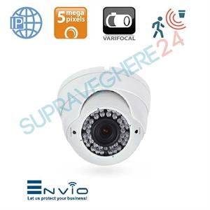 Imaginea Camera IP Dome 5 Megapixel UltraHD, Varifocal, IR 30m, Detectie Inteligenta, PoE, Envio IESS-DVM70SF500