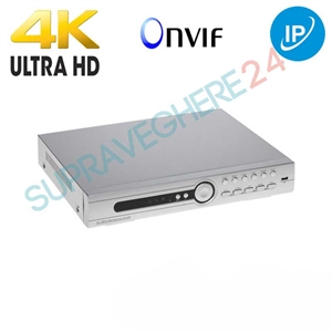 Imaginea NVR camere IP pentru 16 canale 8MP / 24 canale 5MP / 32 canale 4MP - Envio NVR-245MH2S