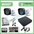 Imaginea Kit supraveghere video complet cu 2 camere FullHD, 2 megapixel, HDD 1TB, DVR, accesorii, configurare inclusa