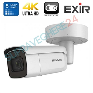 Imaginea Camera IP 4K UltraHD, 8 Megapixel, IR EXIR 50m, obiectiv varifocal motorizat, HIKVISION DS-2CD2683G0-IZS