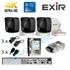 Imaginea Kit supraveghere 4K - 8 Megapixel Hikvision complet cu 3 camere 8MP, DVR, HDD 1TB, accesorii, configurare gratuita