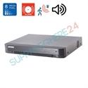 Imaginea DVR TurboHD 4 canale 8 Megapixel, 5 in 1 TVI CVI AHD CVBS IP, 4x Audio, 4x Alarma, Hikvision DS-7204HTHI-K1