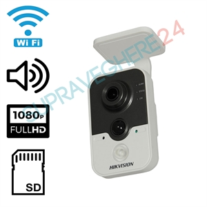 Imaginea Camera IP Wireless Interior, 2 Megapixel FullHD, Audio, Card SD, Senzor PIR, Hikvision DS-2CD2423G0-IW