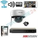 Imaginea Sistem supraveghere cu 1 camera WiFi cu microfon, interior / exterior, FullHD, Configurare inclusa
