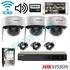 Imaginea Sistem supraveghere cu 3 camere WiFi cu microfon, interior / exterior, FullHD, Configurare inclusa