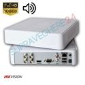 Imaginea DVR 4 canale 2 Megapixel 1080p cu Audio Over Coax, Hikvision DS-7104HQHI-K1(S)