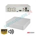Imaginea DVR 8 canale 2 Megapixel 1080p cu Audio Over Coax, Hikvision DS-7108HQHI-K1(S)