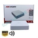 Imaginea DVR 16 canale 2 Megapixel 1080p cu Audio Over Coax, Hikvision DS-7116HQHI-K1(S)