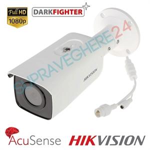 Imaginea Camera IP FullHD Darkfighter cu detectie inteligenta miscare, 2MP, WDR, IR EXIR 80m Hikvision DS-2CD2T26G1-4I