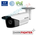 Imaginea Camera IP UltraHD, 6MP, WDR, BLC, IR EXIR 80m, Hikvision Darkfighter2 DS-2CD2T65FWD-I8