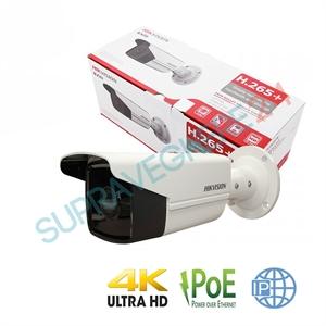 Imaginea Camera IP Exterior 4K, 8MP, IR EXIR 80m, day&night, HIKVISION DS-2CD2T83G0-I8