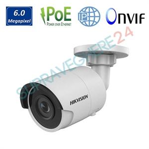 Imaginea Camera IP 6MP UltraHD, IR Exir 30m, Slot CardSD, Detectie inteligenta, Hikvision DS-2CD2063G0-I