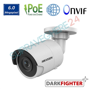 Imaginea Camera IP 6MP Darkfighter, UltraHD, IR Exir 30m, Slot CardSD, Detectie inteligenta, Hikvision DS-2CD2065FWD-I