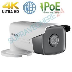 Imaginea Camera IP Exterior 4K, 6 Megapixel, IR EXIR 50m, day&night, PoE HIKVISION DS-2CD2T63G0-I5