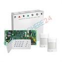 Imaginea Centrala alarma 4 zone pe fir Paradox SP4000 cu tastatura K636, 2xPIR 476+, cutie, traf