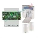 Imaginea Centrala alarma 4 zone pe fir Paradox SP4000 cu tastatura K32LCD, 2xPIR 476+, cutie, traf